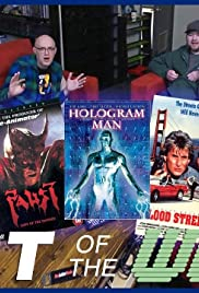 Hologram Man, Faust, and Blood Street Poster