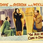 Jimmy Durante, Ann Sheridan, and Monty Woolley in The Man Who Came to Dinner (1942)