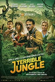 Catherine Deneuve, Jonathan Cohen, Alice Belaïdi, and Vincent Dedienne in Terrible jungle (2020)