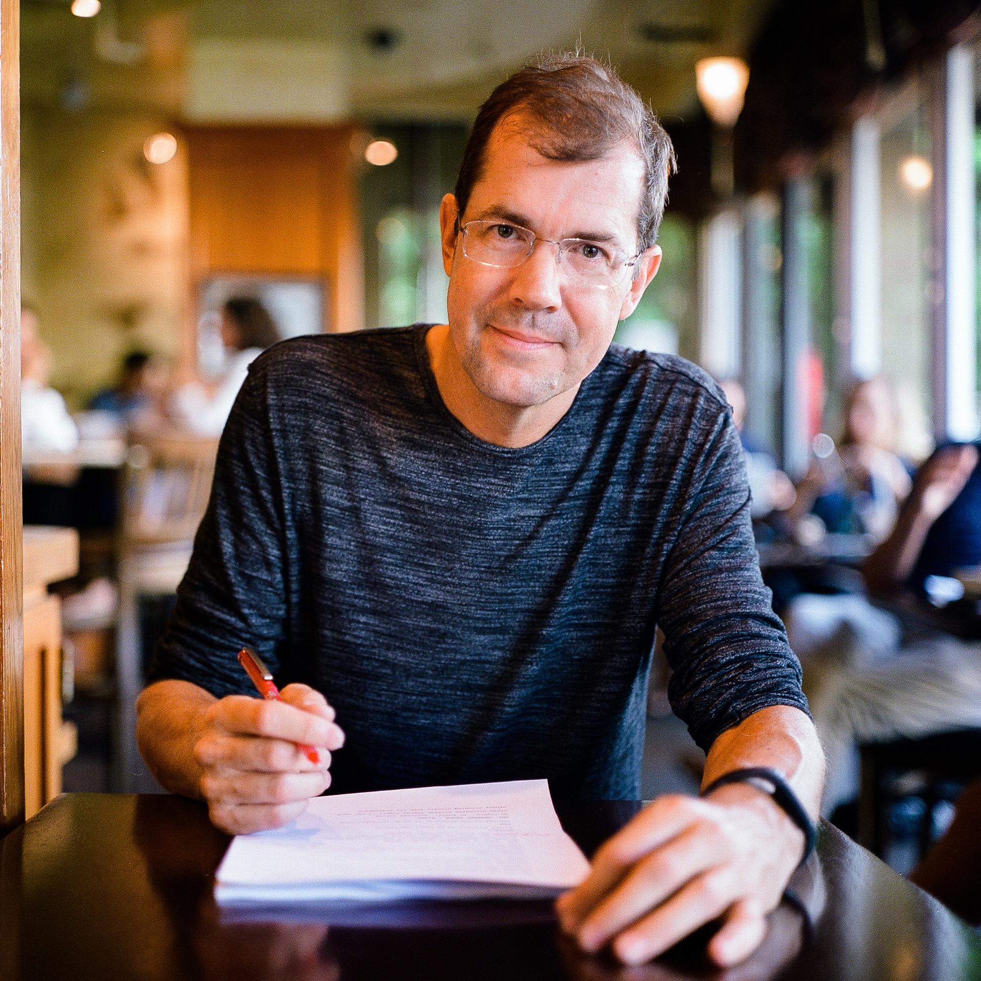 At screenwriter's haven, Kean Coffee