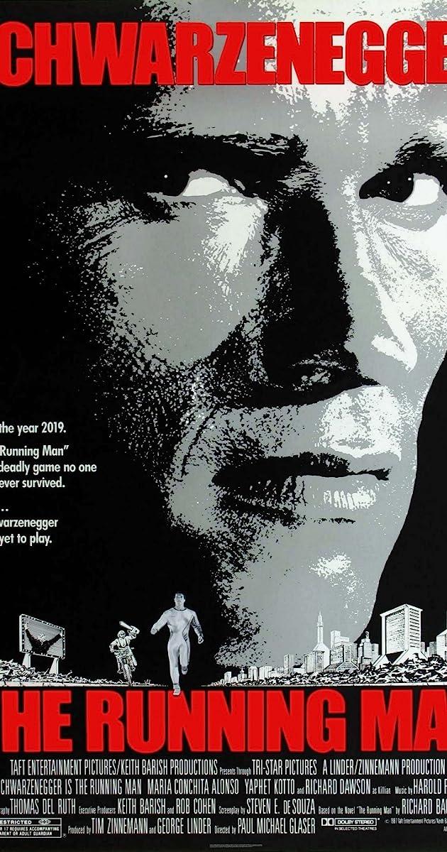 Bėgantis žmogus / The Running Man (1987)Online