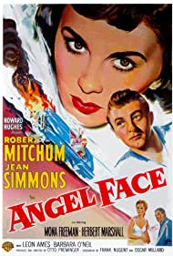 Robert Mitchum and Jean Simmons in Angel Face (1953)