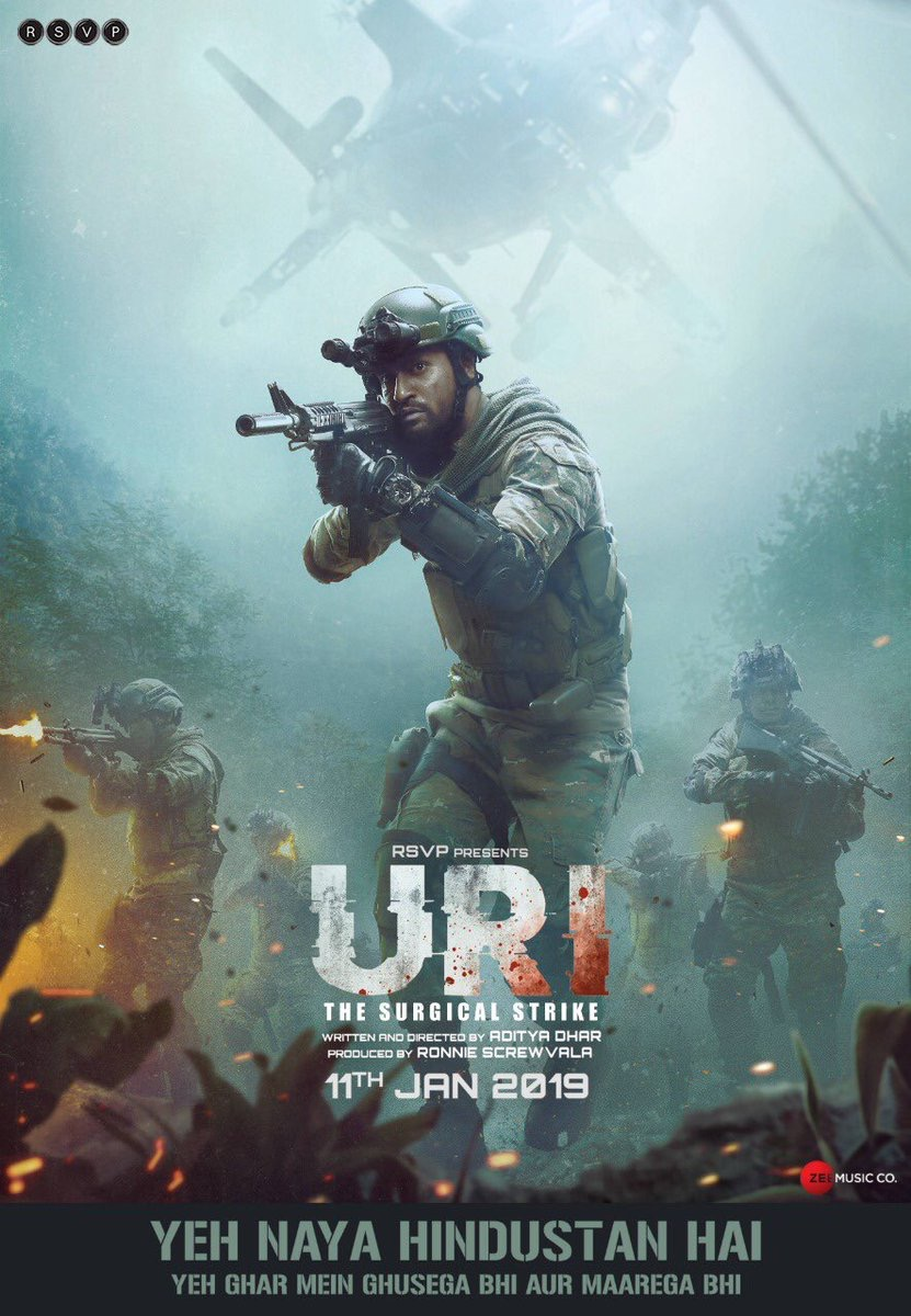 Uri: The Surgical Strike (2019) WEBRip 720p & 1080p