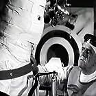 Boris Karloff in Frankenstein 1970 (1958)