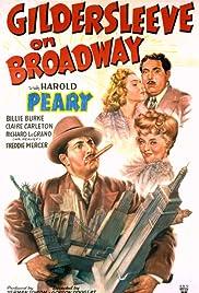 Gildersleeve on Broadway Poster