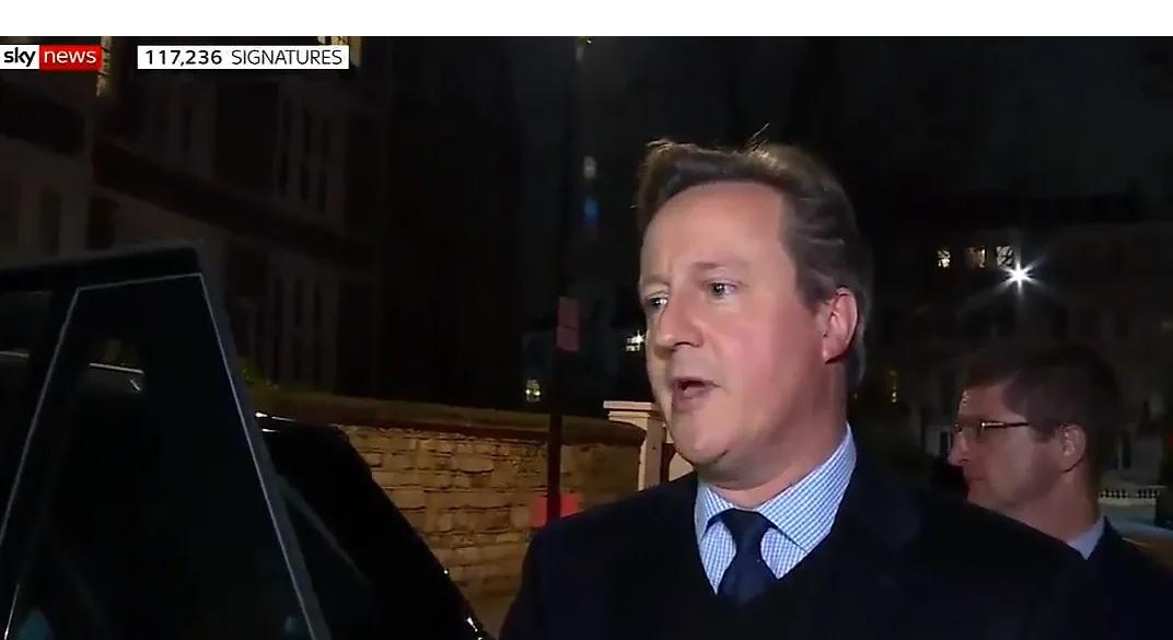 David Cameron in Sky News Tonight (2014)