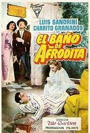 El baño de Afrodita Poster