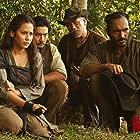Tio Pakusadewo, Ario Bayu, Pevita Pearce, and Yoshi Sudarso in Buffalo Boys (2018)