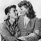 Ronald Reagan and Ann Sheridan in Juke Girl (1942)