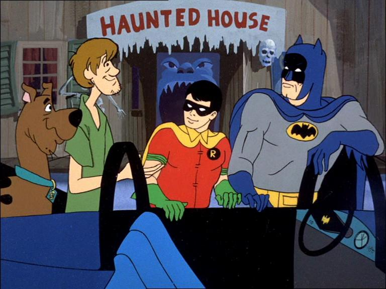 Image result for scooby doo and batman
