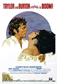 Richard Burton and Elizabeth Taylor in Boom! (1968)