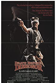 Death Before Dishonor (1987) starring Fred Dryer on DVD on DVD