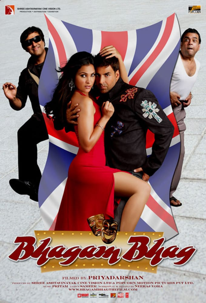 Bhagam Bhag 2006 Hindi 720p BluRay ESub 1.1GB Download