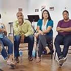 Tara Easley, Laura Flannery, Nguyen Stanton, Billionna Olivia Reyes, Brent Jerell Reed, and Samuel Hamilton in Token Support Group (2016)