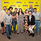 Pete Zias, Colby Holt, Sam Probst, Michael Henry, Anna Schlegel, Tony Jacksha, Joe Probst, and Maxwell Esposito at an event for Pig Hag (2019)