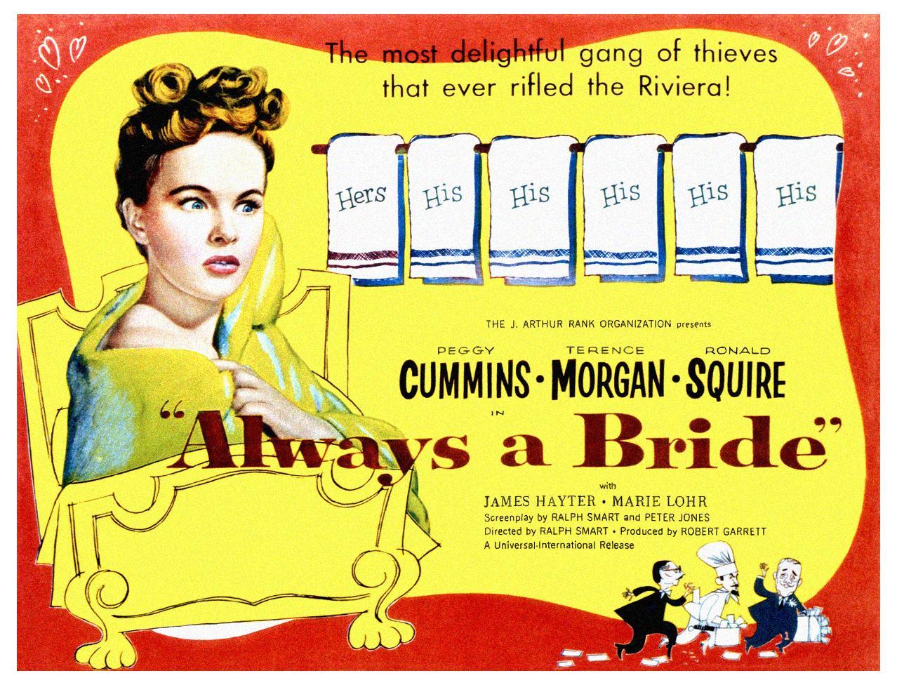 Peggy Cummins in Always a Bride (1953)
