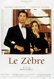 Le zèbre Poster