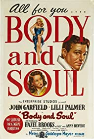 Body and Soul (1947) Poster - Movie Forum, Cast, Reviews