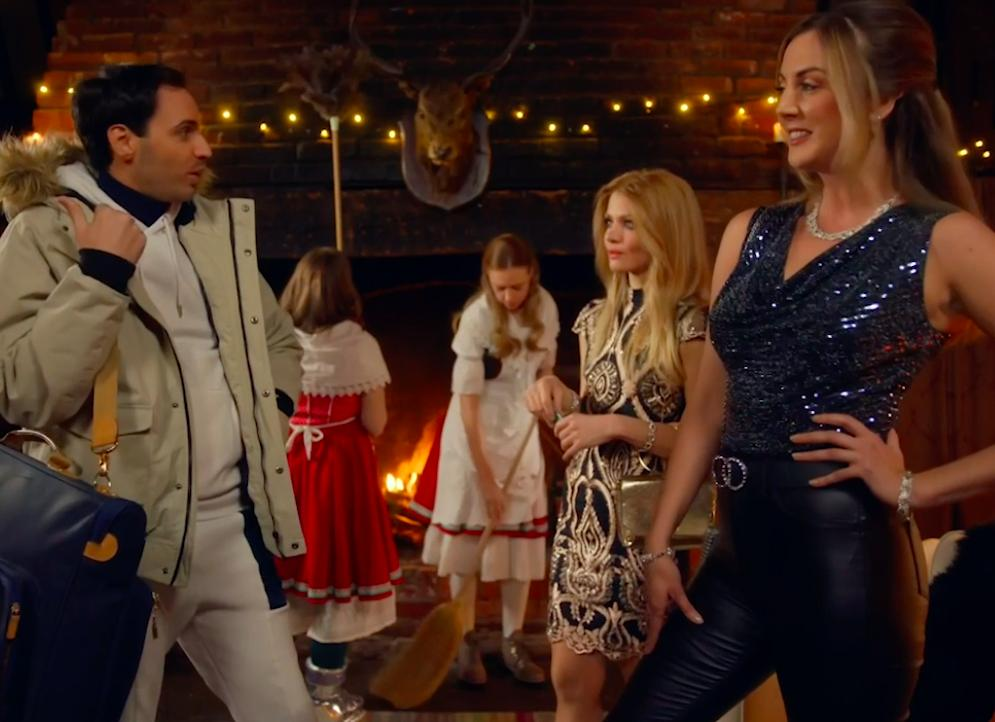 Still of Milanka Brooks in The Windsors Series 3, Channel 4