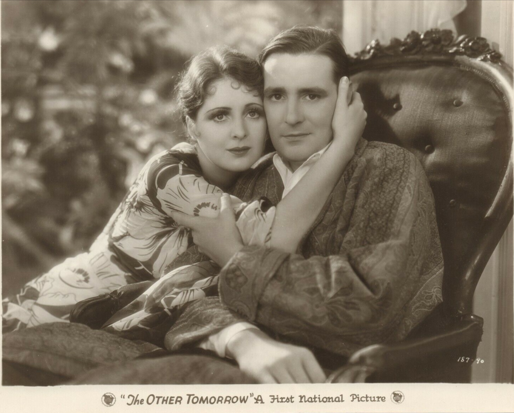 Billie Dove and Kenneth Thomson in The Other Tomorrow (1930)