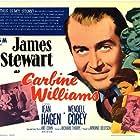 James Stewart, Jean Hagen, and Robert Hyatt in Carbine Williams (1952)
