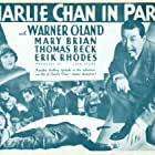 Dorothy Appleby, Mary Brian, Thomas Beck, and Warner Oland in Charlie Chan in Paris (1935)