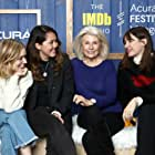 Emily Mortimer, Robyn Nevin, Bella Heathcote, and Natalie Erika James at an event for The IMDb Studio at Acura Festival Village (2020)