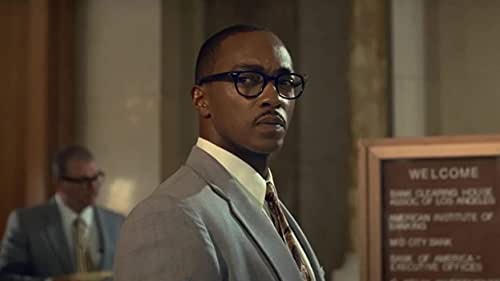 'The Banker' centers on revolutionary businessmen Bernard Garrett (Anthony Mackie) and Joe Morris (Samuel L. Jackson), who devise an audacious and risky plan to take on the racially oppressive establishment of the 1960s by helping other African Americans pursue the American dream.