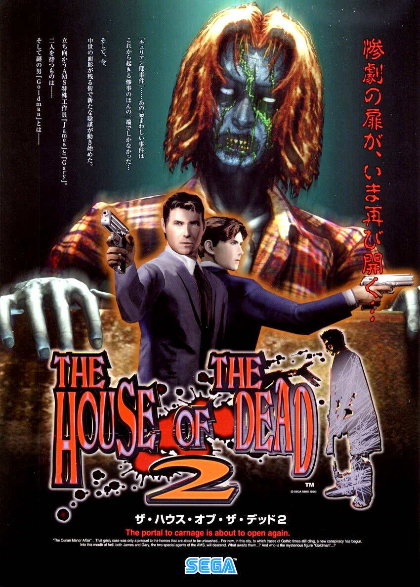 The House Of The Dead 2 Video Game 1999 Imdb