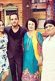Paresh Rawal, Tanvi Azmi, Kartik Aaryan & Kirti Kharbanda in Kapil's Show Poster