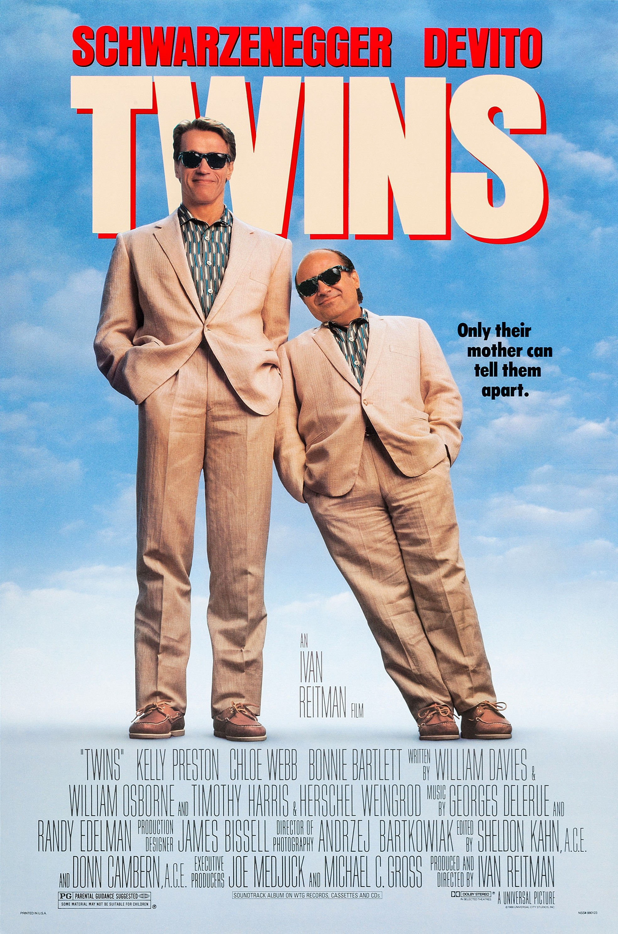 Image result for twins movie poster