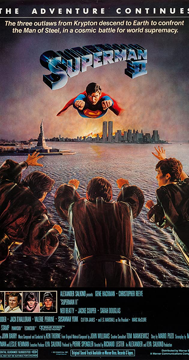 Subtitle of Superman II