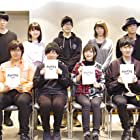 Koki Uchiyama, Takuya Sato, Daiki Yamashita, Akari Kitô, and Tasuku Hatanaka at an event for Naka no Hito Genome (2019)