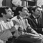 Hronis Exarhakos, Alekos Tzanetakos, Giorgos Mihalakopoulos, and Sotiris Moustakas in I oraia tou kourea (1969)