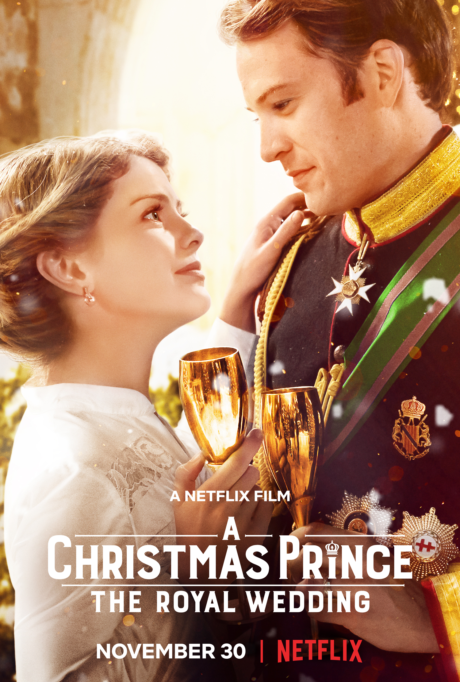 A Christmas Kiss Cast.A Christmas Prince The Royal Wedding 2018 Imdb