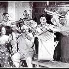 Togo, Tessie Quintana, Jaime de la Rosa, Pugo, and Pablo Virtuoso in Tambol Mayor (1949)