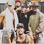 Elijah Kelley, Luke James, Algee Smith, Keith Powers, Bryshere Y. Gray, and Woody McClain in The New Edition Story (2017)