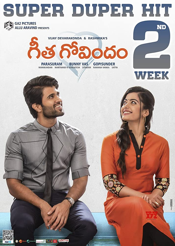 Geetha Govindam 2019 Hindi Dubbed 720p HDRip