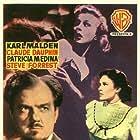 Karl Malden, Patricia Medina, and Veola Vonn in Phantom of the Rue Morgue (1954)