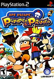 Ape Escape: Pumped & Primed Poster