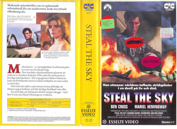 Steal the Sky (1988)
