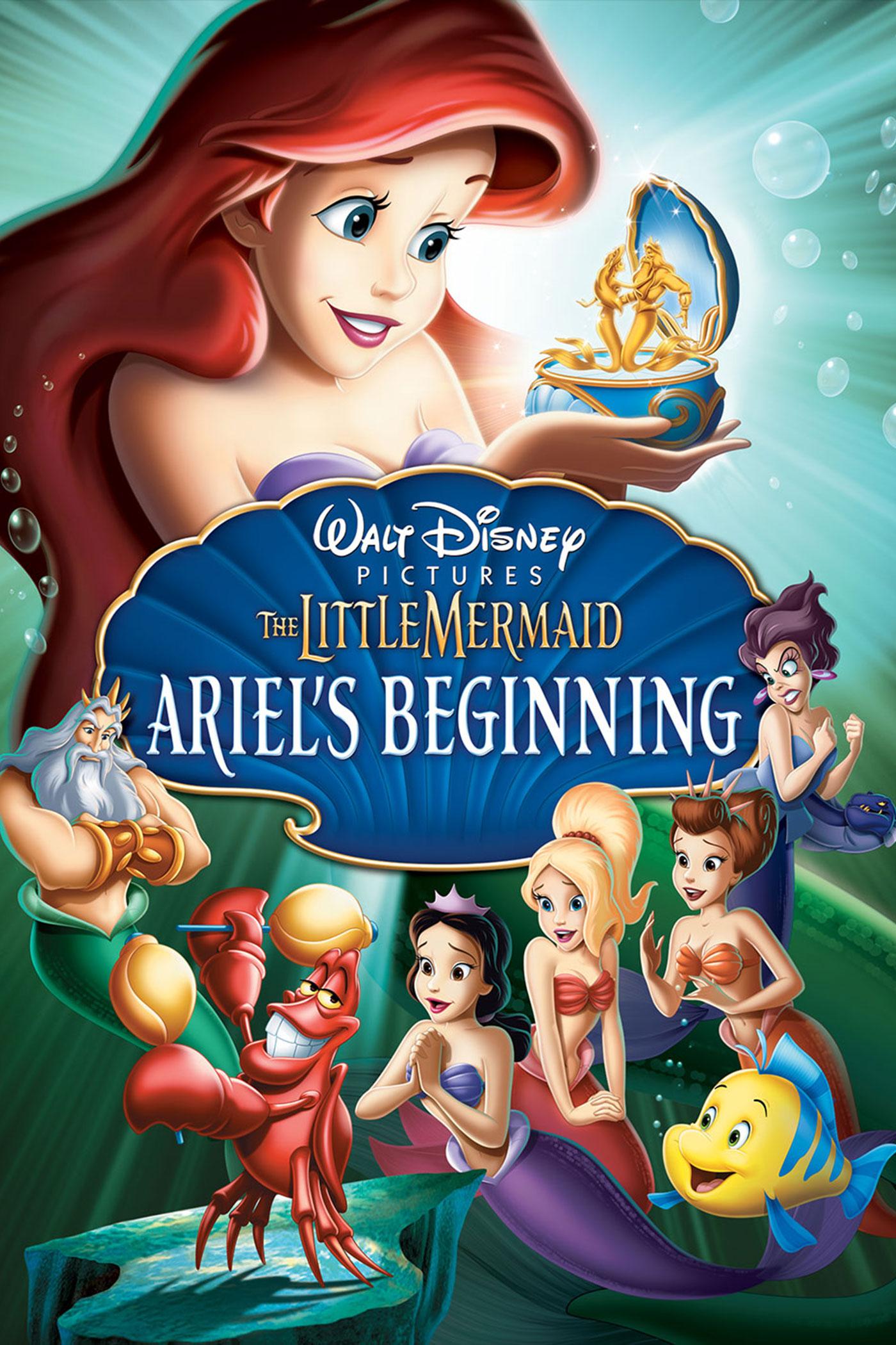 The Little Mermaid: Ariel Disney animated sequels