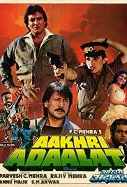 Aakhri Adaalat Poster
