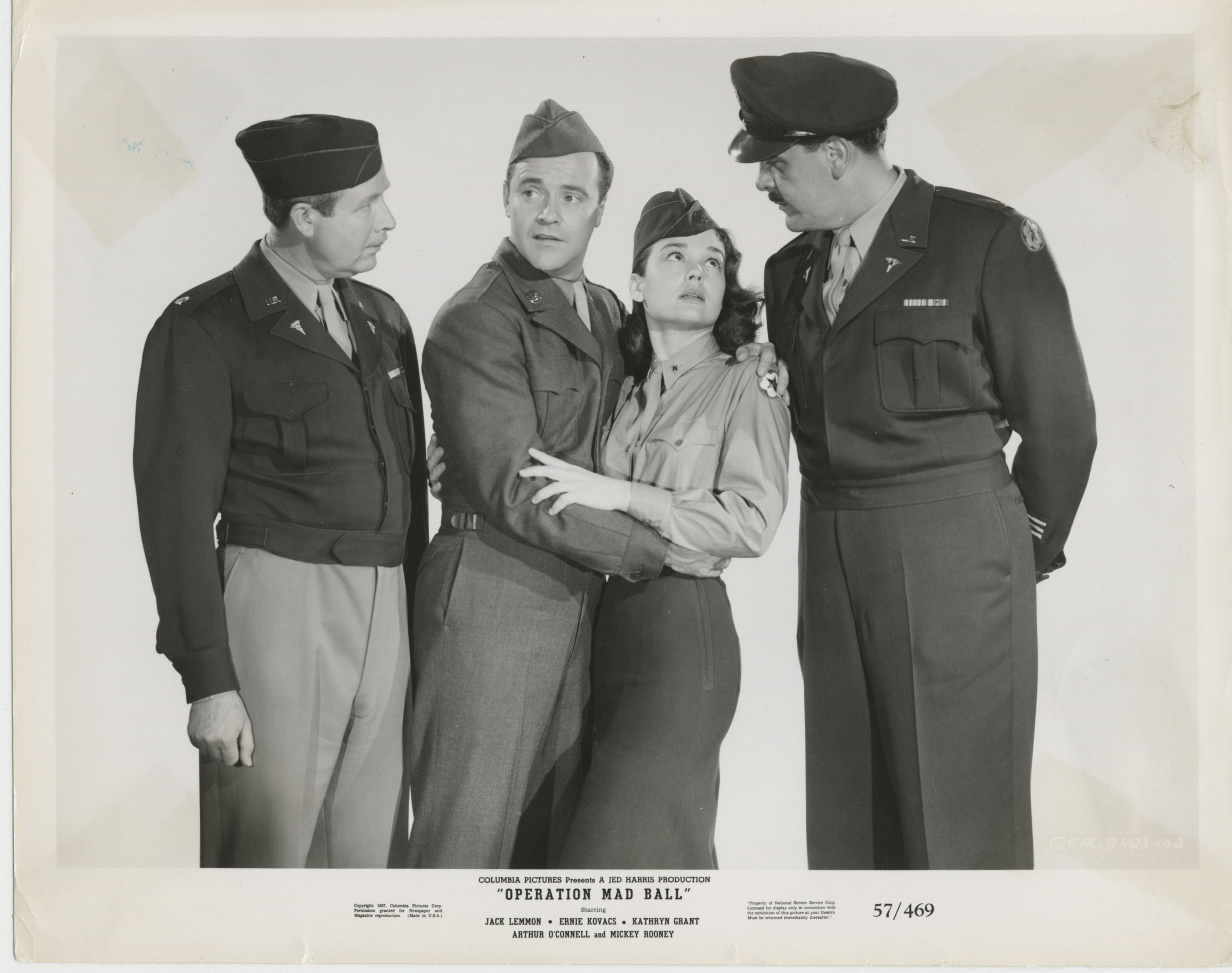 Image result for Operation Mad Ball 1957 kathryn grant