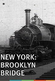 New York, Brooklyn Bridge Poster