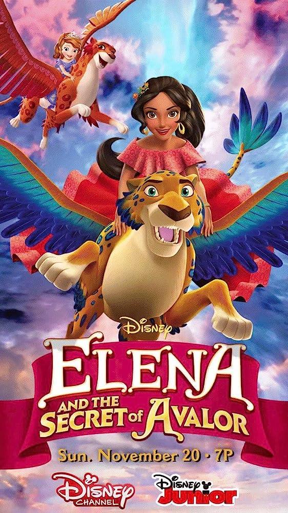 Elena and the Secret of Avalor (2016) Hindi Dubbed