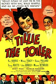 Kay Harris, Vinton Hayworth, Daphne Pollard, Marjorie Reynolds, William Tracy, Ernest Truex, and George Watts in Tillie the Toiler (1941)
