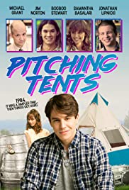 Pitching Tents Poster