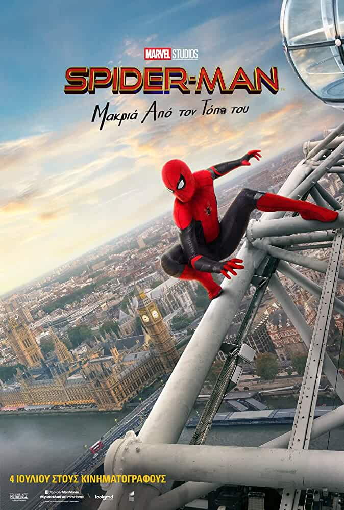 Spider-Man: Far From Home (2019) 720p WEB-HD