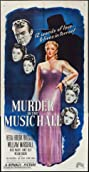 Murder in the Music Hall (1946) Poster